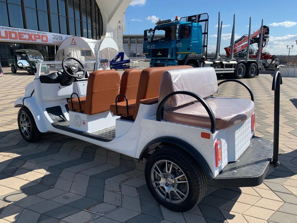 Элекар 5Е-TIGARBO кабриолет